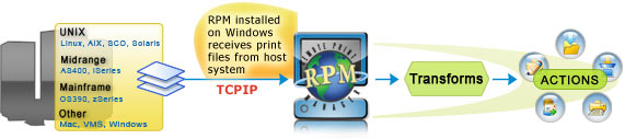 Print server UK software